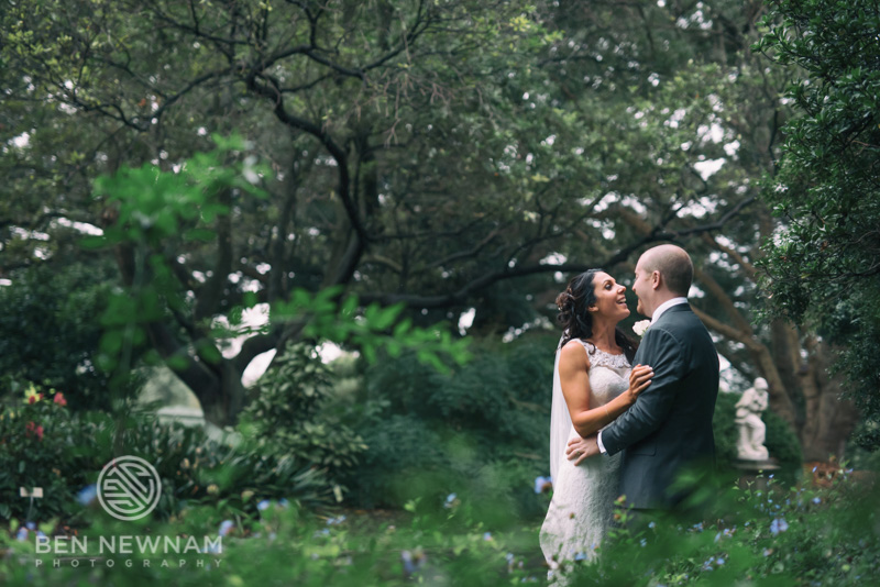 royal botanic garden sydney wedding